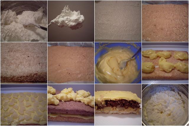 Kokos torta sa ananasom - postupak
