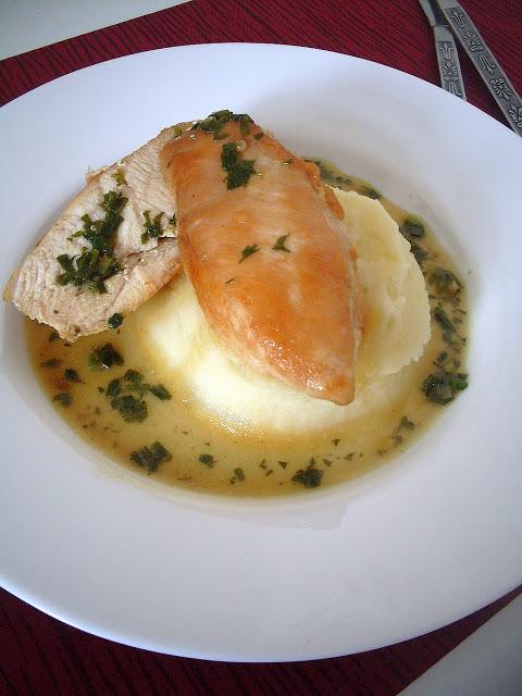 piletina u aromaticnom sosu