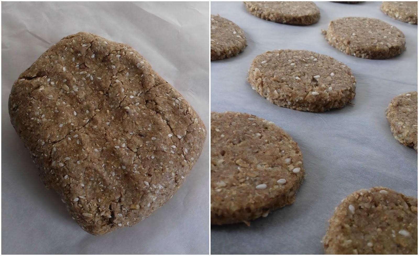 wellness cookies dough