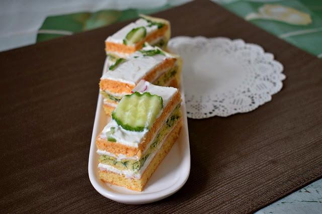 Sarena slana torta
