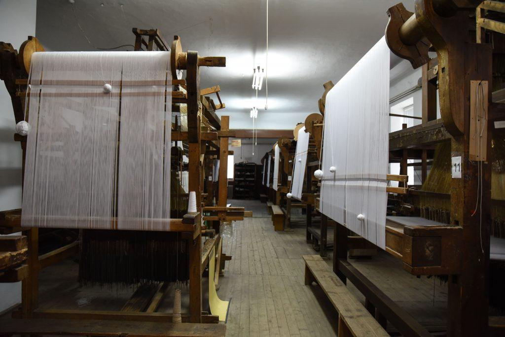 Proizvodnja damasta u Bezdanu