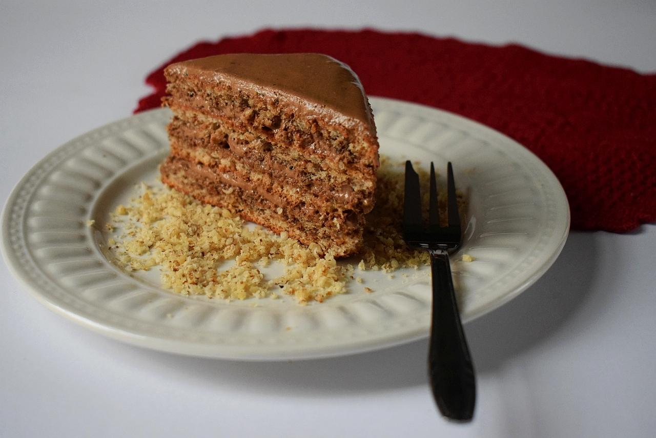 Cokoladna torta s orasima