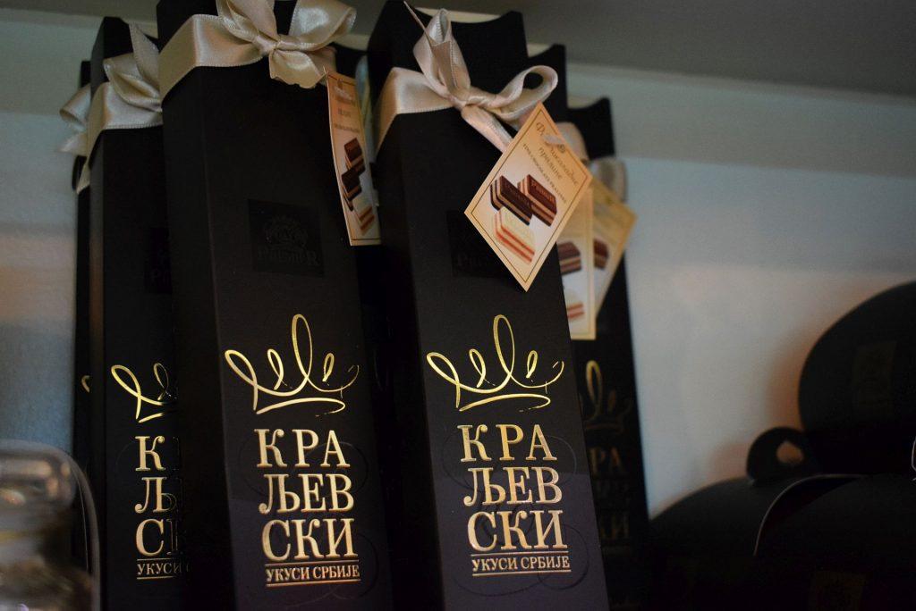 Kraljevski Ukusi Srbije Premier čokolada