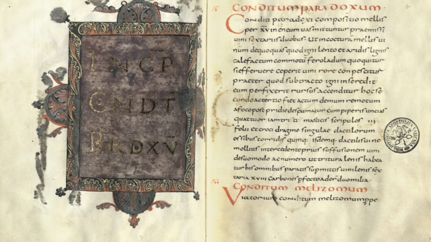 De re coquinaria – najstarija zbirka recepata starog kontinenta
