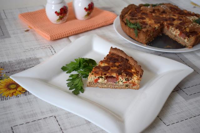 hrono tart sa paprikama i kobasicom