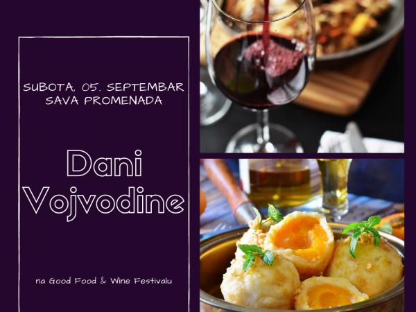 Dani Vojvodine na Good food & wine festivalu